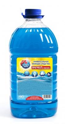 Универсальное моющее средство Выгодная уборка Прогресс в чистоте, 5000мл