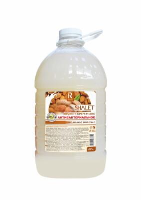 SHALET крем-мыло Миндальное молочко, 5л